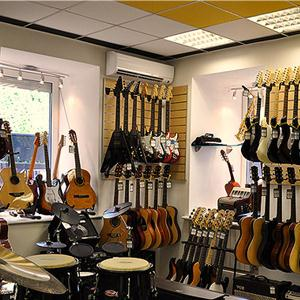 Музыкальные магазины Богатыря